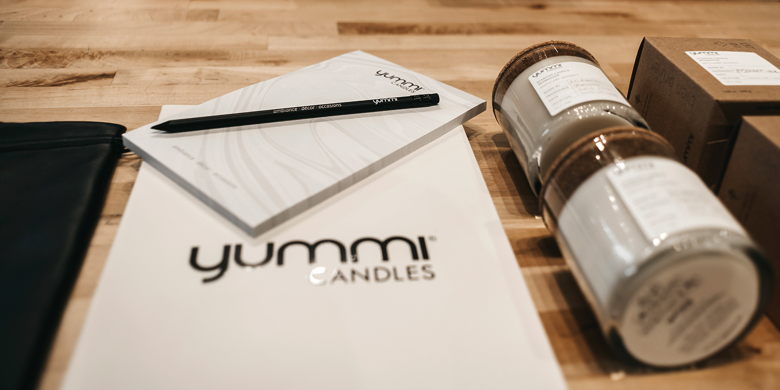 Yummi Candles Brand Collateral